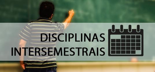 eesc disciplinas intersemestrais