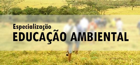 eesc especializacao educacao ambiental